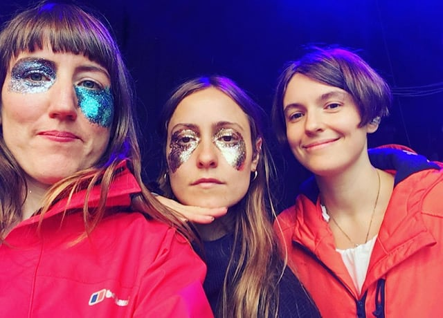 Stealing Sheep set up for summer with FestEvol appearance