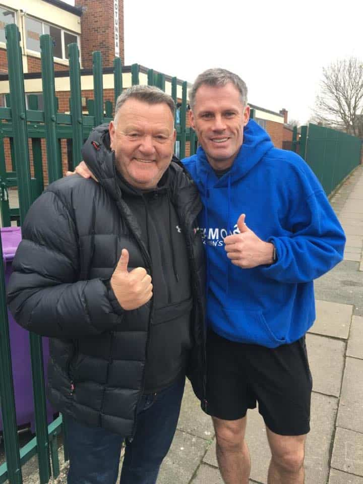 Jamie Carragher calls out MPs for change in legislation around lifesaving equipment in schools
