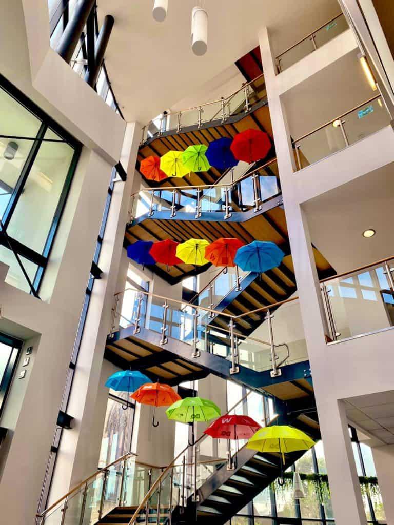 ADHD Foundation unveils its latest stunning Umbrella Project installation