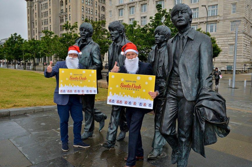 Liverpool Santa Dash announce new partner for 2021