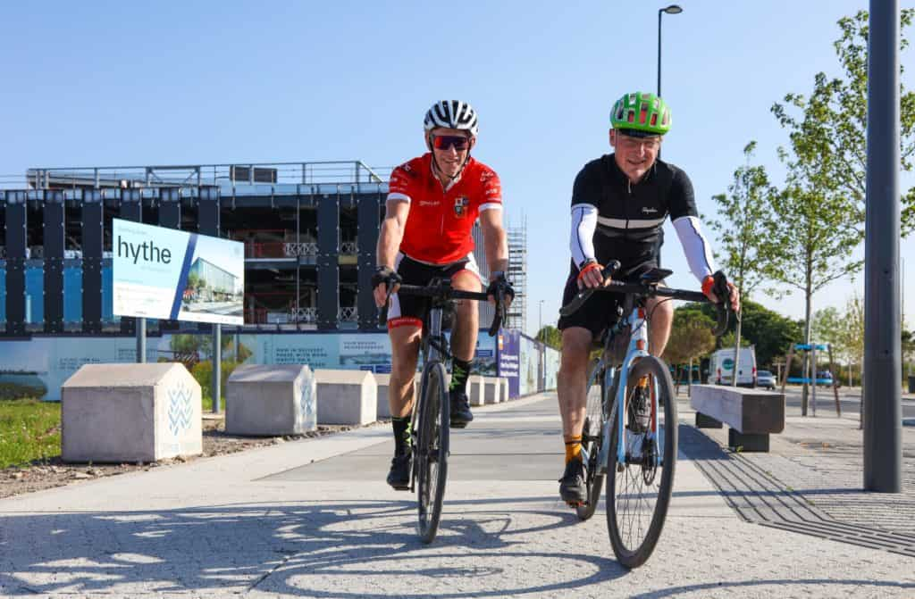 Liverpool Waters and Wirral Waters was visited by Peel L&P Director during epic cycle ride