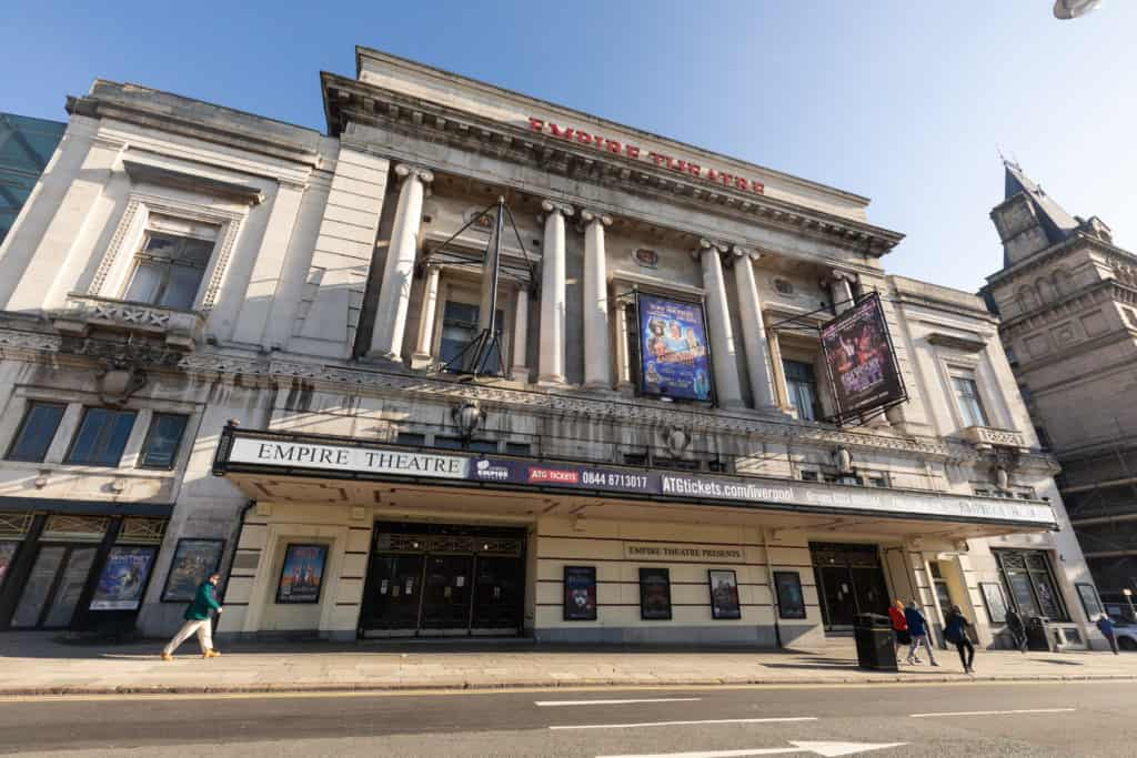 The Liverpool Empire Theatre to welcome back audiences this August
