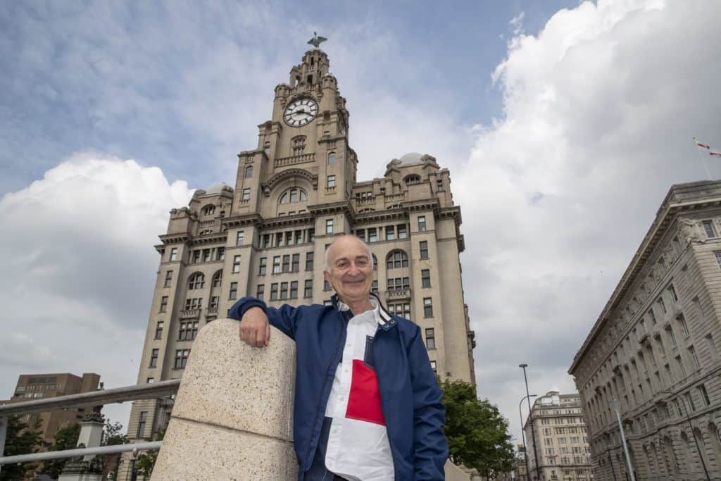 Sir Tony Robinson explores the famous Royal Liver Building clocks in celebration of 110th anniversary