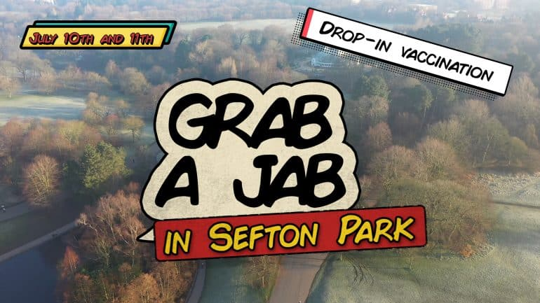 Sefton Park will be hosting Liverpool's first mass vaccination event