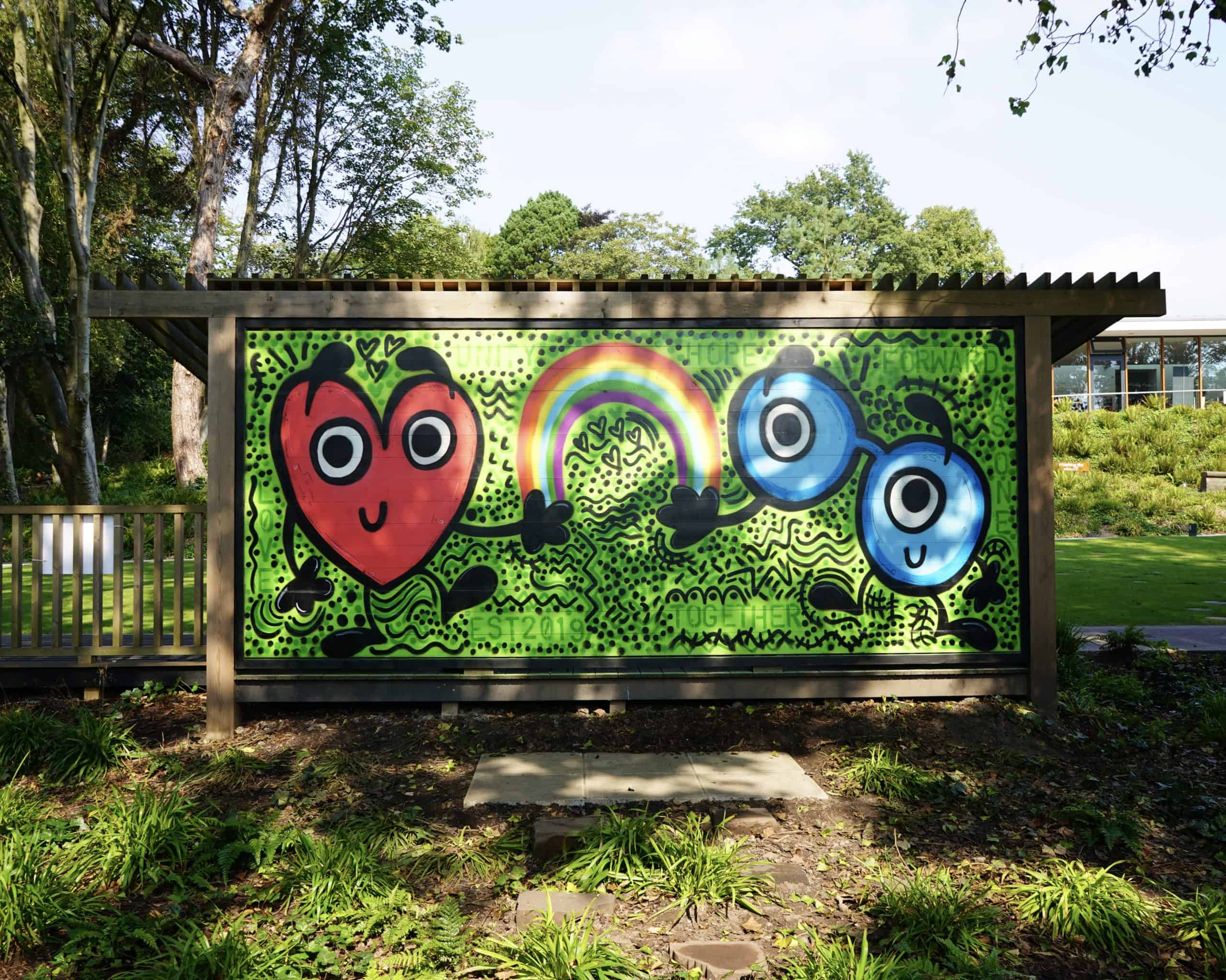 Sean Webster new artwork revealed at Strawberry Field