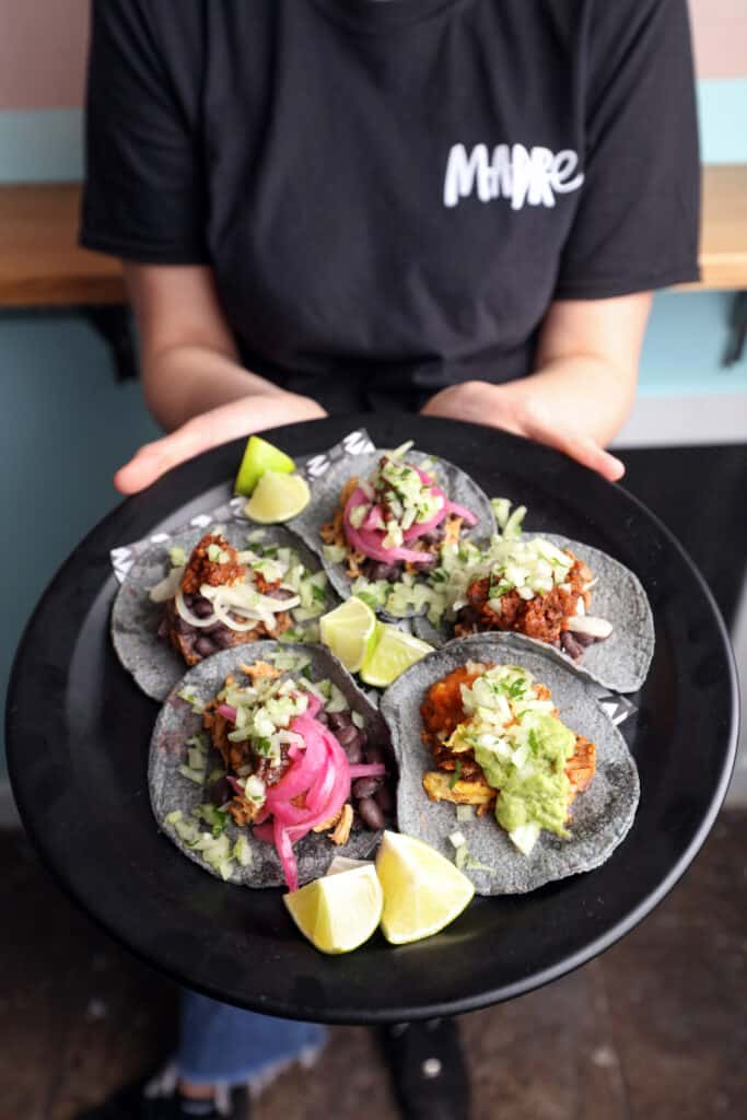 Celebrate National Taco Day at MADRE with 2 for 1 offer!