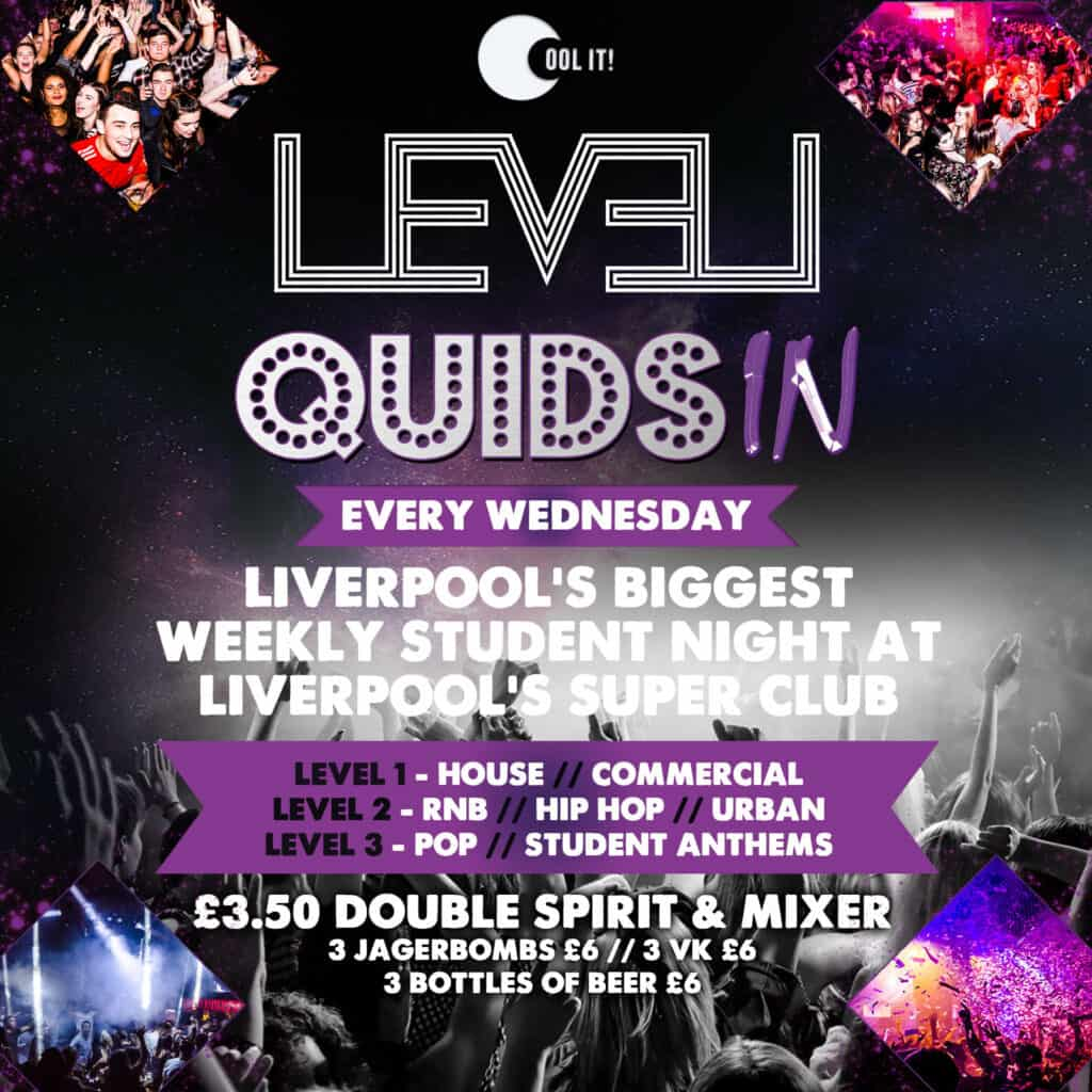 Students nights are back in Liverpool
