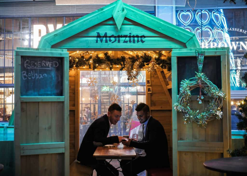 Bar Hütte is back to bring festive cheer to Liverpool