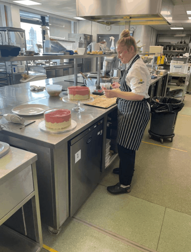 Young Merseyside chef wins The Craft Guild of Chefs Graduate Award for Pastry 2021