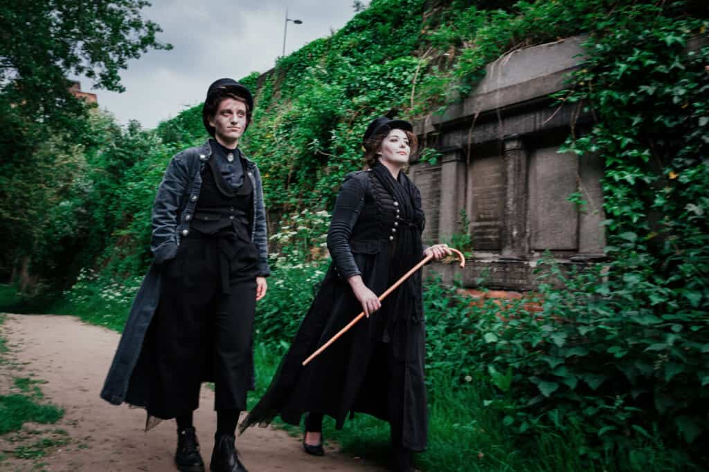Shiverpool announce new street theatre show - The Secret Garden Cemetery Shivers Tour