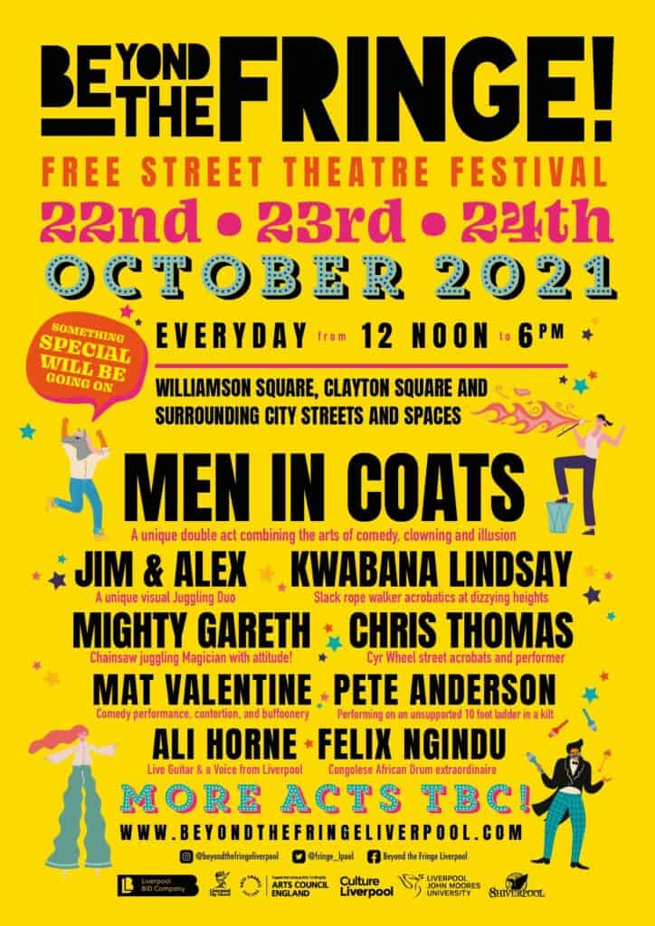 Beyond the Fringe festival to bring family fun to the city this October
