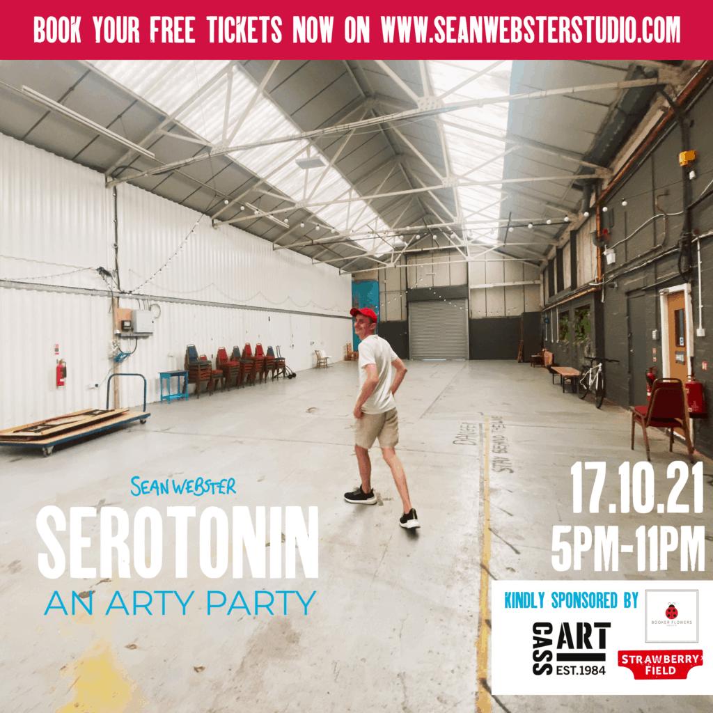Sean Webster announces first solo show SEROTONIN