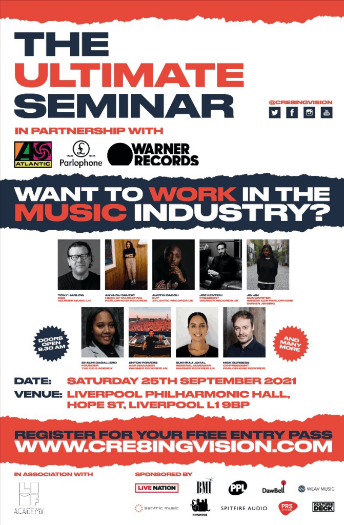 'The Ultimate Seminar': Guiding the next generation of music industry creatives heads to Liverpool