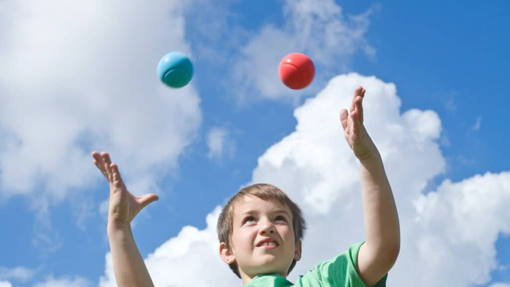 Feed Your Mind campaign launches at Royal Albert Dock with free kids circus skills!