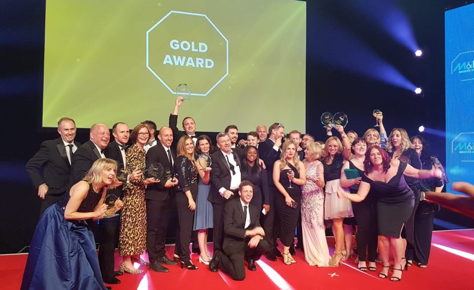 ACC Liverpool wins Best UK Conference Centre at the M&IT Industry Awards