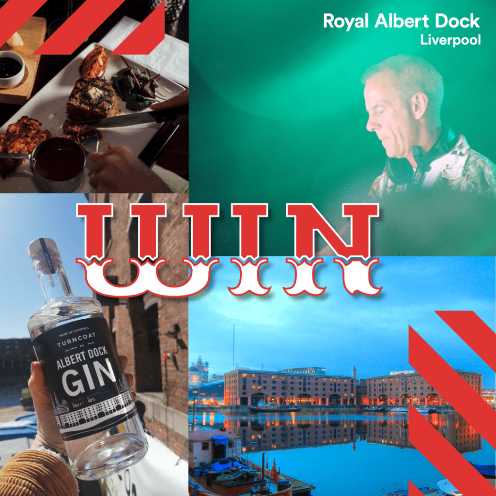 Win the ultimate Liverpool staycation the Royal Albert Dock