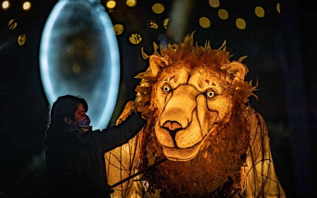 Chester Zoo welcomes back Magical Christmas event 'The Lanterns'