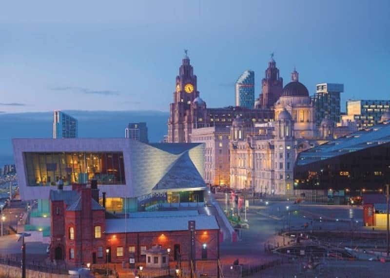 Liverpool's waterfront to receive huge cultural cash injection